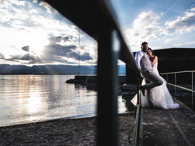 Le mariage de Stephen et Laura à Vétraz-Monthoux, Haute-Savoie 16