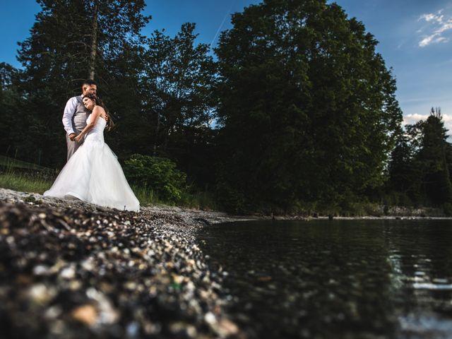 Le mariage de Stephen et Laura à Vétraz-Monthoux, Haute-Savoie 18