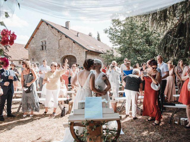 Le mariage de Angèle et Marianne à Besançon, Doubs 59