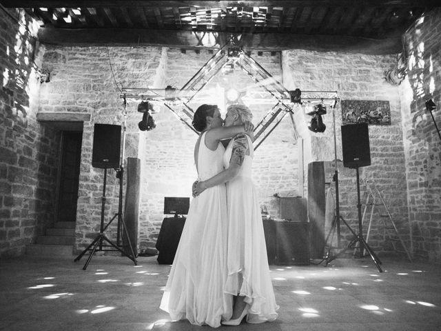 Le mariage de Angèle et Marianne à Besançon, Doubs 85