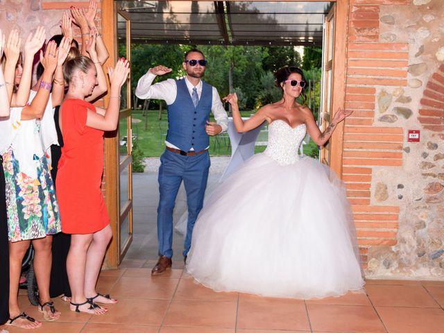 Le mariage de Jennifer et Romain à Le Soler, Pyrénées-Orientales 66