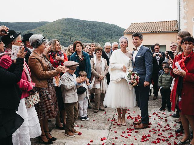 Le mariage de Nicolas et Laure à Olargues, Hérault 14