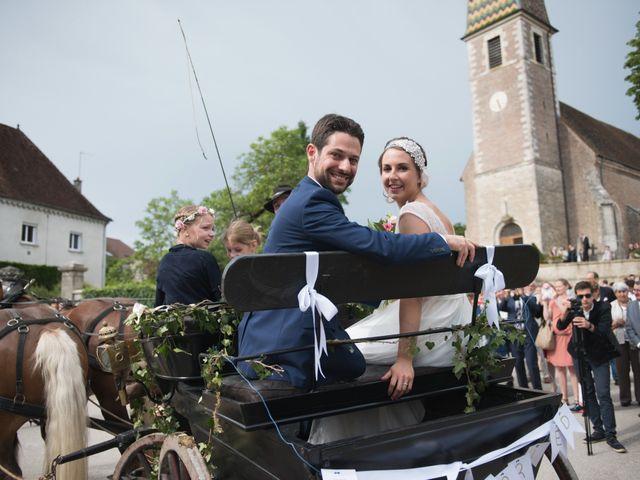 Le mariage de David et Marie-Cécile à Dole, Jura 14