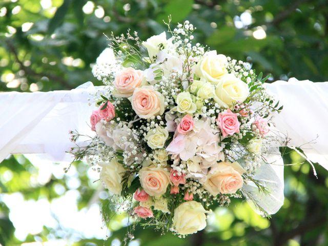 Le mariage de Johnny et Laure à Chamborigaud, Gard 2