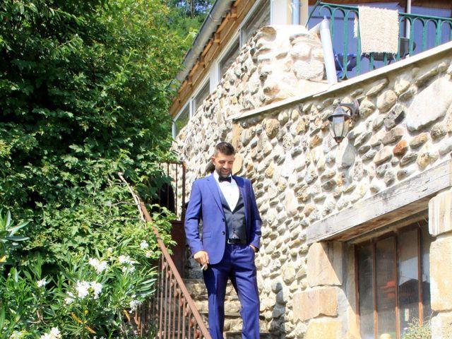 Le mariage de Johnny et Laure à Chamborigaud, Gard 5