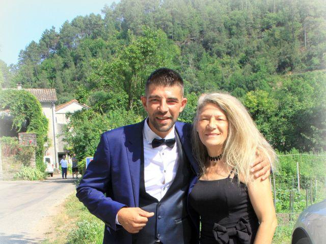 Le mariage de Johnny et Laure à Chamborigaud, Gard 6