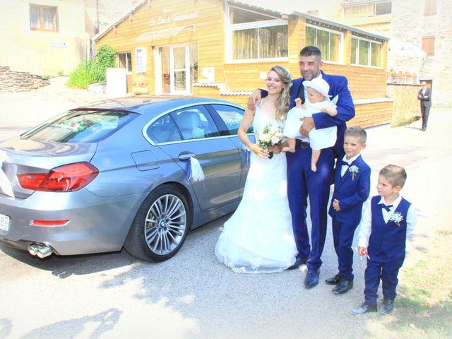 Le mariage de Johnny et Laure à Chamborigaud, Gard 12