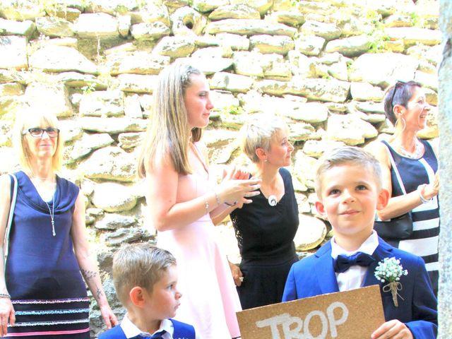 Le mariage de Johnny et Laure à Chamborigaud, Gard 14