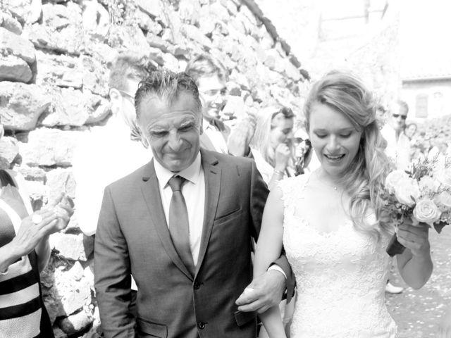 Le mariage de Johnny et Laure à Chamborigaud, Gard 16