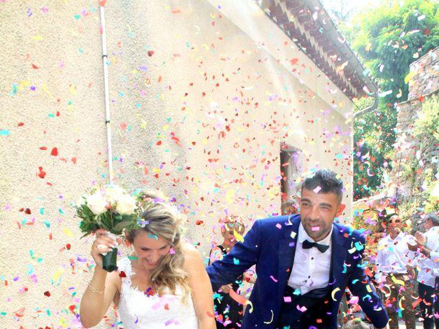 Le mariage de Johnny et Laure à Chamborigaud, Gard 19