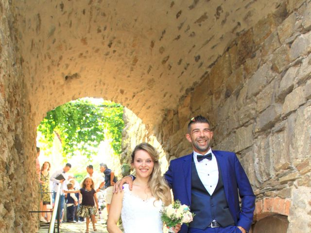 Le mariage de Johnny et Laure à Chamborigaud, Gard 20