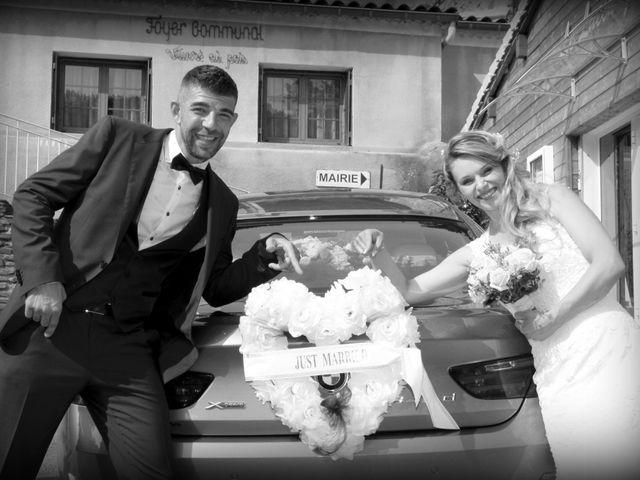 Le mariage de Johnny et Laure à Chamborigaud, Gard 23