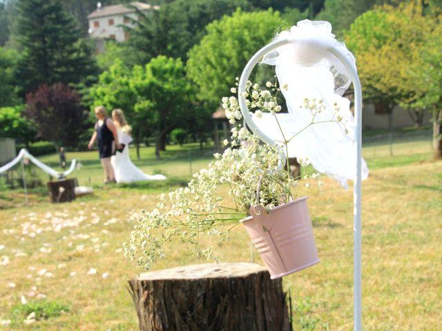 Le mariage de Johnny et Laure à Chamborigaud, Gard 28