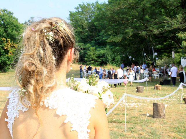 Le mariage de Johnny et Laure à Chamborigaud, Gard 29