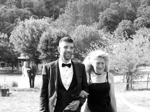 Le mariage de Johnny et Laure à Chamborigaud, Gard 33