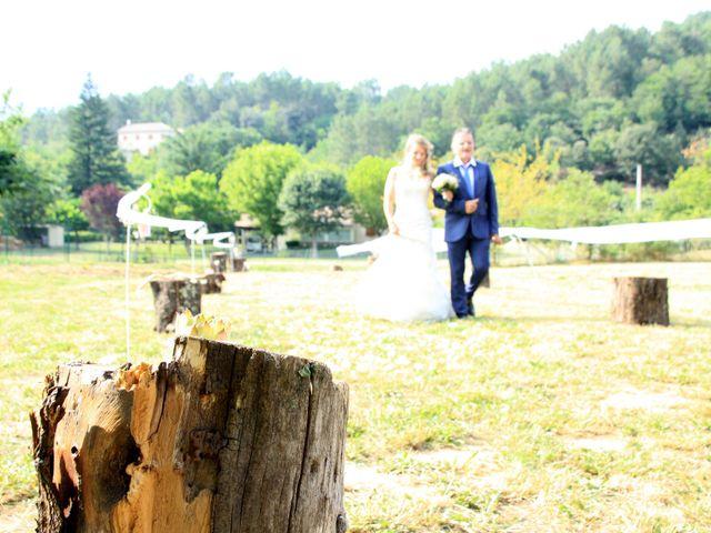 Le mariage de Johnny et Laure à Chamborigaud, Gard 34