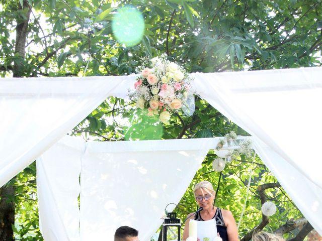Le mariage de Johnny et Laure à Chamborigaud, Gard 36