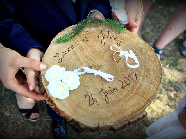 Le mariage de Johnny et Laure à Chamborigaud, Gard 38