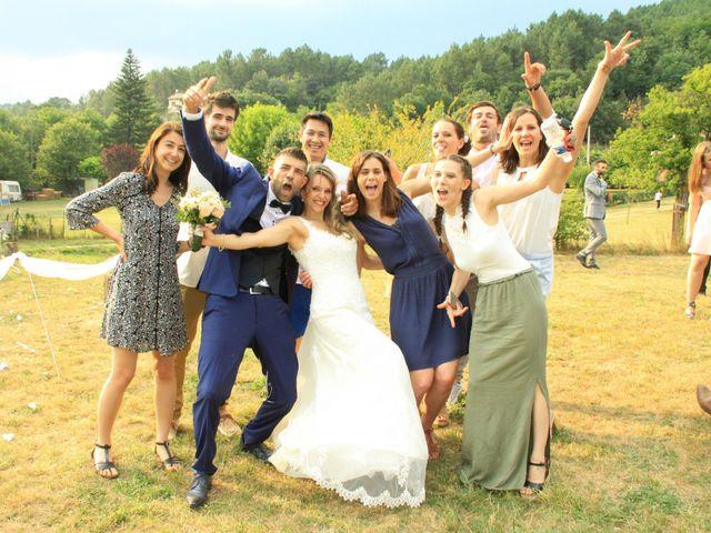Le mariage de Johnny et Laure à Chamborigaud, Gard 46