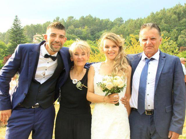 Le mariage de Johnny et Laure à Chamborigaud, Gard 47