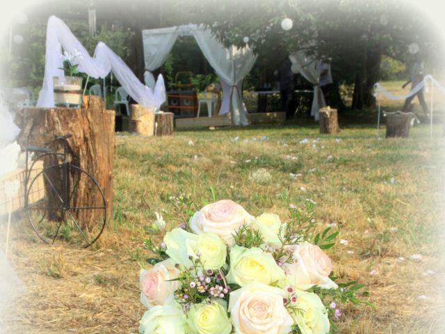 Le mariage de Johnny et Laure à Chamborigaud, Gard 49