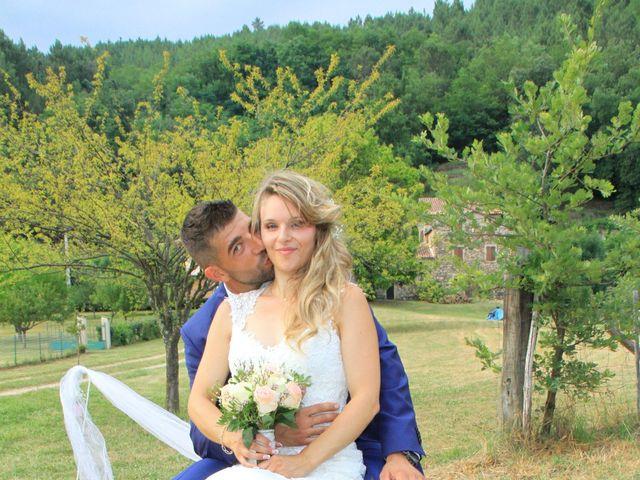 Le mariage de Johnny et Laure à Chamborigaud, Gard 55
