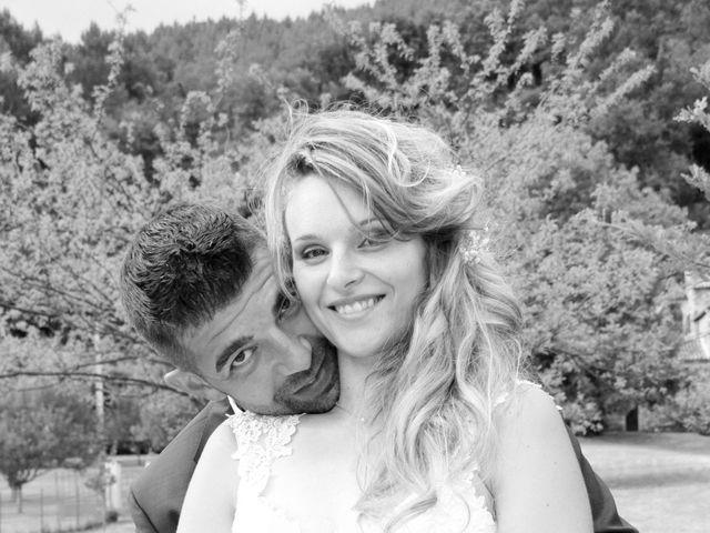 Le mariage de Johnny et Laure à Chamborigaud, Gard 56