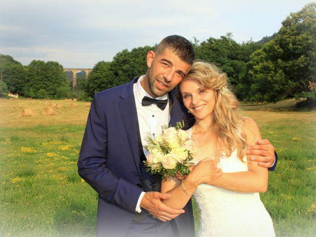 Le mariage de Johnny et Laure à Chamborigaud, Gard 59