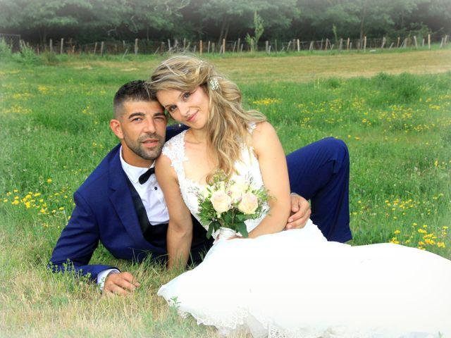 Le mariage de Johnny et Laure à Chamborigaud, Gard 64