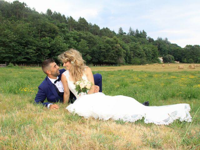 Le mariage de Johnny et Laure à Chamborigaud, Gard 65