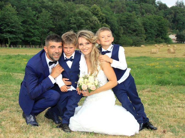 Le mariage de Johnny et Laure à Chamborigaud, Gard 68