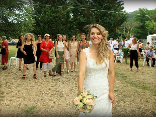 Le mariage de Johnny et Laure à Chamborigaud, Gard 73