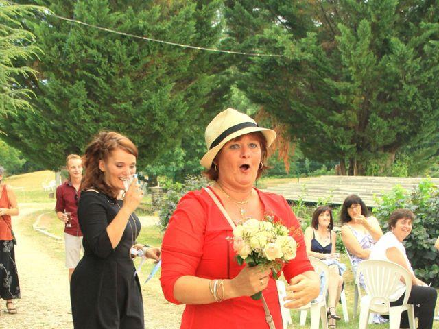 Le mariage de Johnny et Laure à Chamborigaud, Gard 74