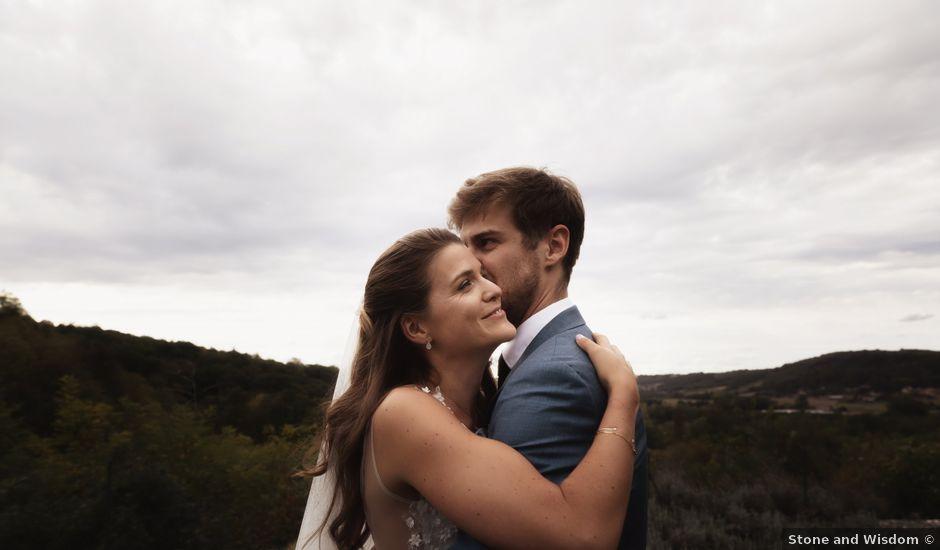 Le mariage de Joachim et Clara à Saint-Geoire-en-Valdaine, Isère