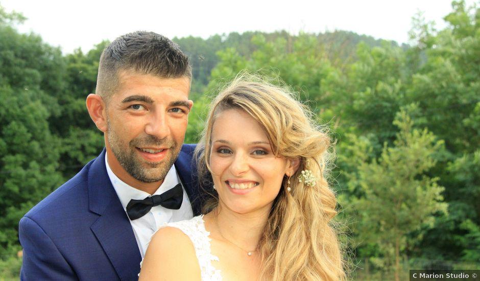 Le mariage de Johnny et Laure à Chamborigaud, Gard