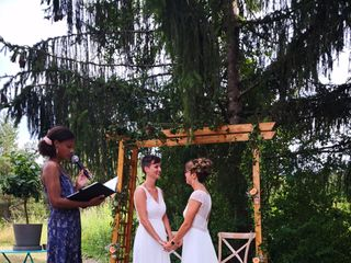 Le mariage de Justine et Coline 1