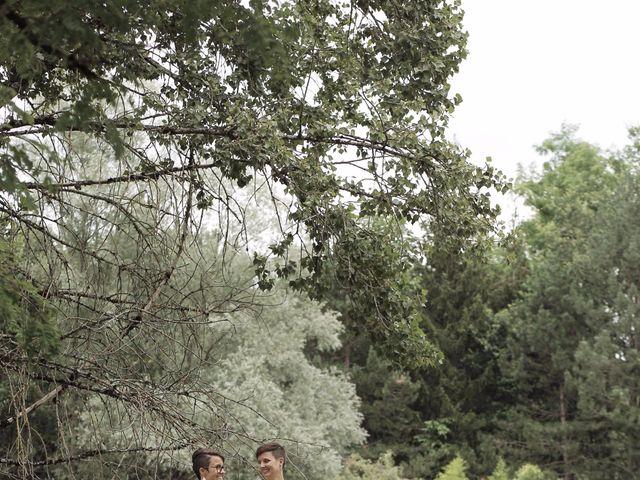 Le mariage de Coline et Justine à Contamine-Sarzin, Haute-Savoie 15