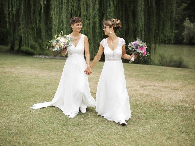 Le mariage de Coline et Justine à Contamine-Sarzin, Haute-Savoie 19