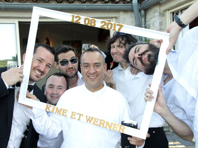 Le mariage de Werner et Kime à Grabels, Hérault 73