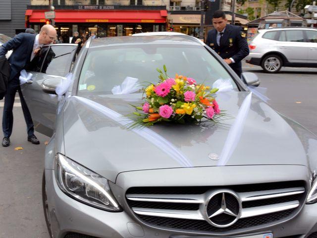 Le mariage de Julien et Amanda à Paris, Paris 35