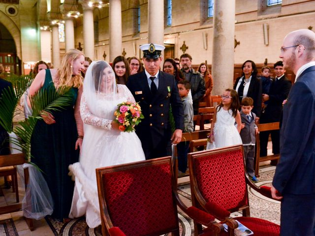 Le mariage de Julien et Amanda à Paris, Paris 40