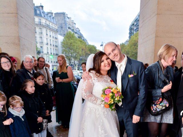 Le mariage de Julien et Amanda à Paris, Paris 56