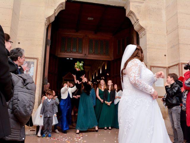 Le mariage de Julien et Amanda à Paris, Paris 57