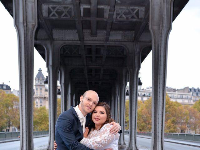 Le mariage de Julien et Amanda à Paris, Paris 59
