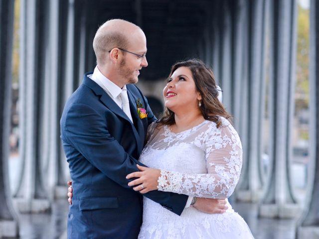 Le mariage de Julien et Amanda à Paris, Paris 61