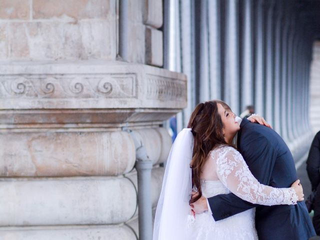 Le mariage de Julien et Amanda à Paris, Paris 63