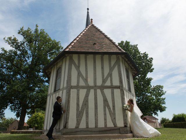 Le mariage de Julien et Estelle à Marolles-sous-Lignières, Aube 13