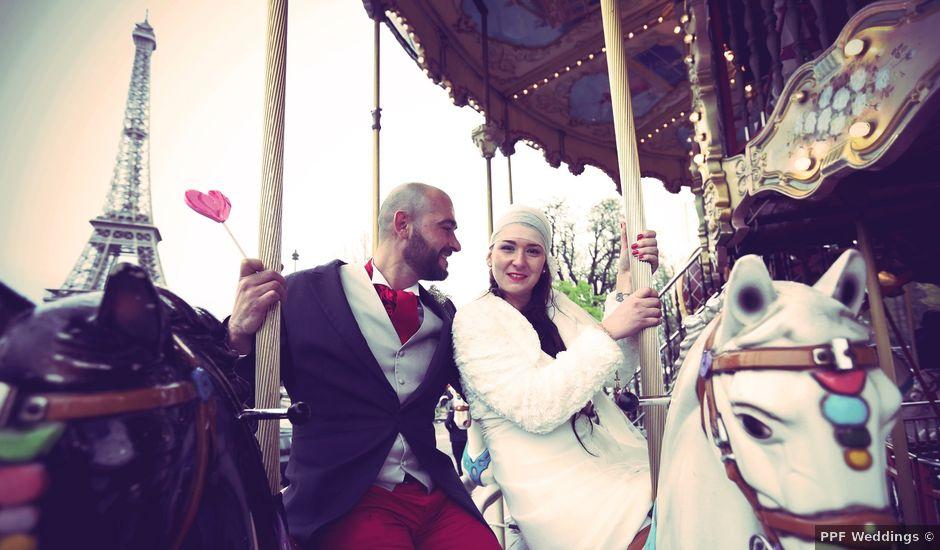 Le mariage de Bruno et Béatrice à Paris, Paris