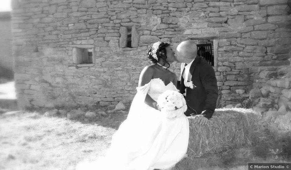 Le mariage de Werner et Kime à Grabels, Hérault
