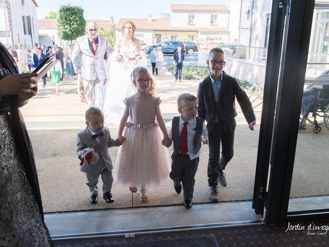 Le mariage de Jérôme  et Adeline  à Aigrefeuille-sur-Maine, Loire Atlantique 18